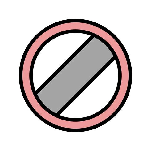 Vector National speed limit applies Icon