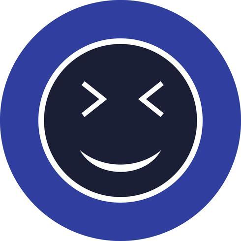 Guiño Emoji Vector Icon