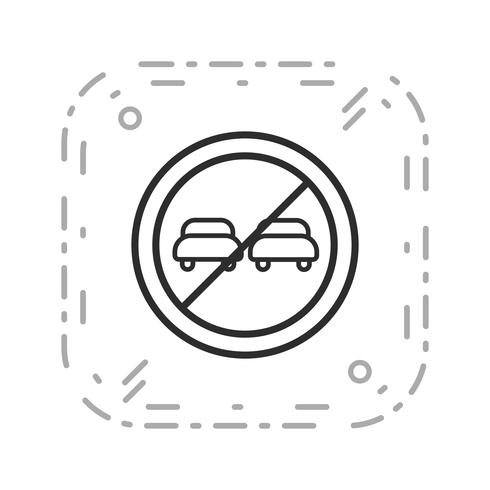 ikon för vektorövervakning