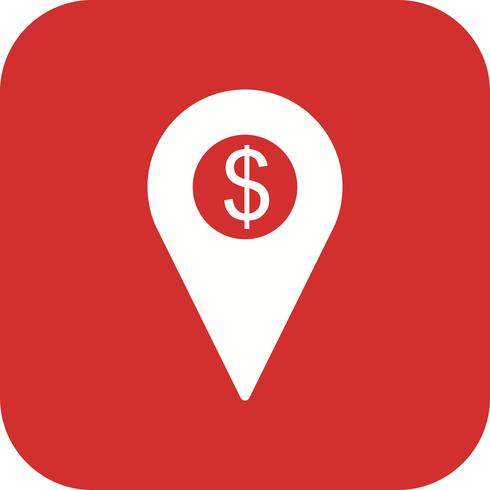 Business Location Vector Icon