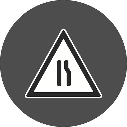 Vektor-Dual-Autobahn-Symbol