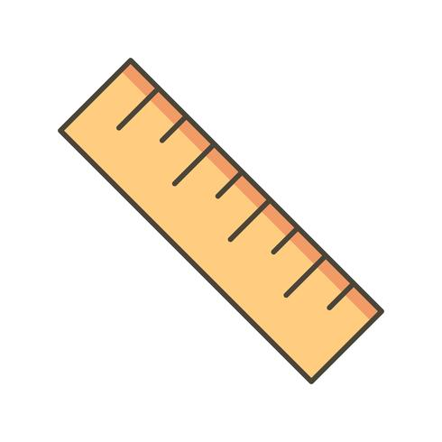 Icône de vecteur d'échelle
