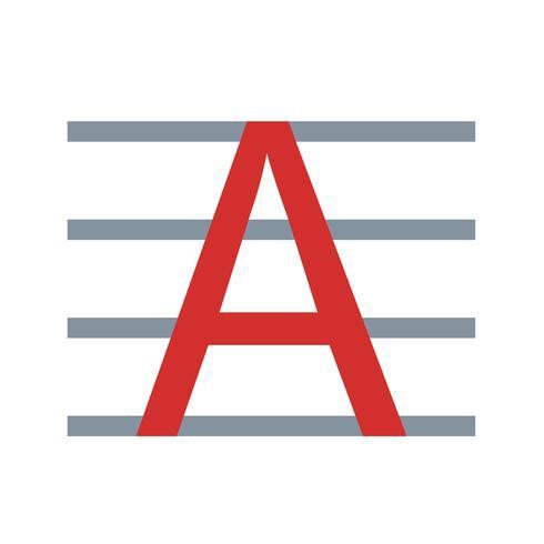 Uppercase Vector Icon
