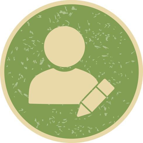 Edit Profile Vector Icon