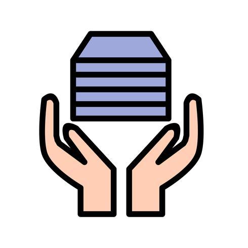 acceptionsvektorns ikon