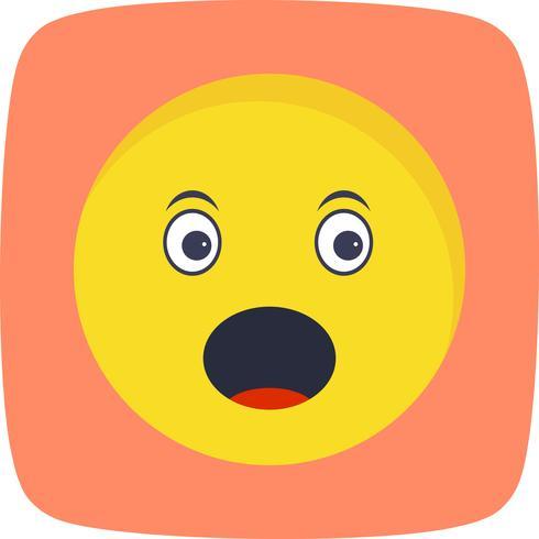 Förvånad Emoji Vector Icon