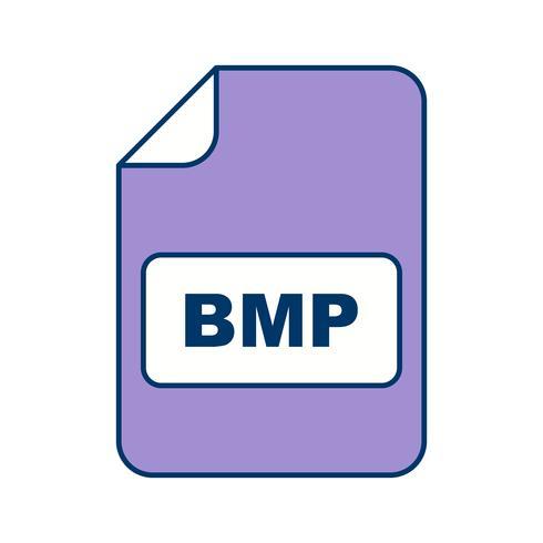 Icona di vettore BMP