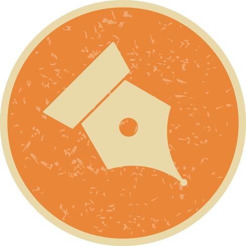 Spitze-Vektor-Symbol