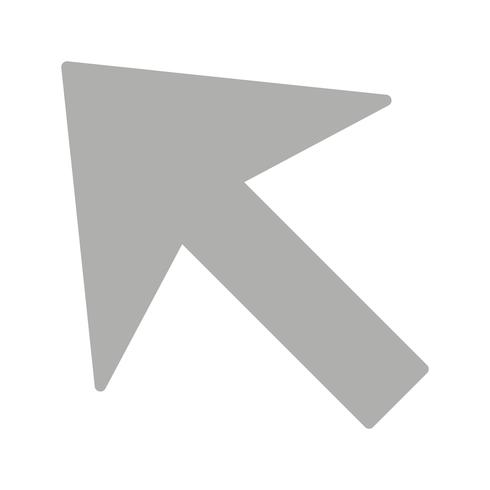 Icône de vecteur de curseur