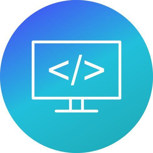 Programmeringsvektorikon