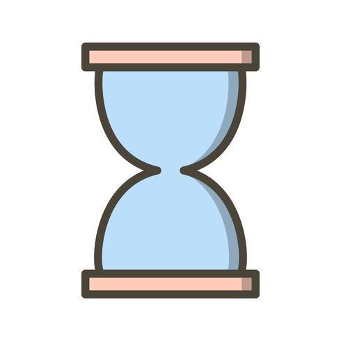 timglas vektor ikon