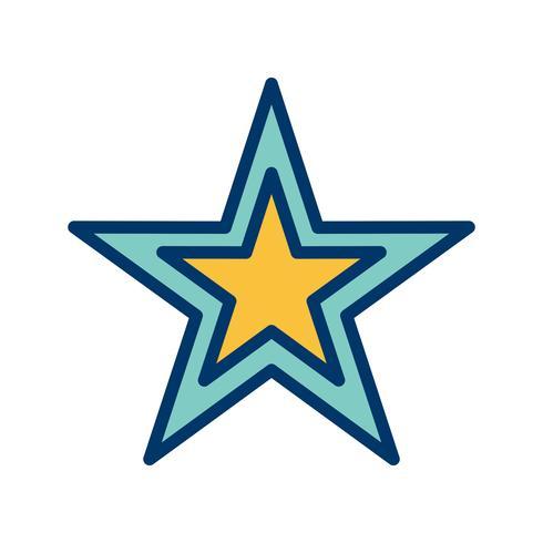 Stern-Vektor-Symbol