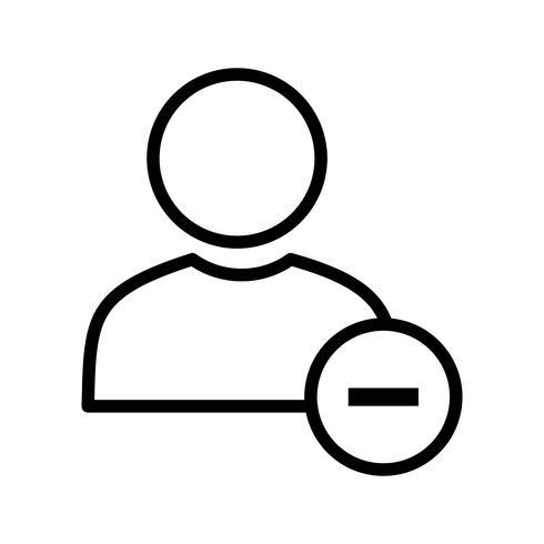 Bloquer l'utilisateur Vector Icon