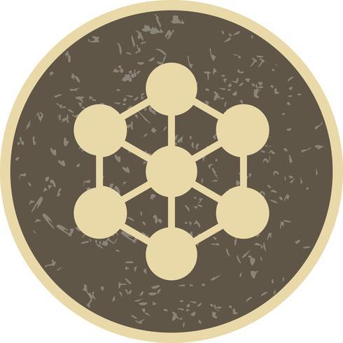 Molekylvektorikonen