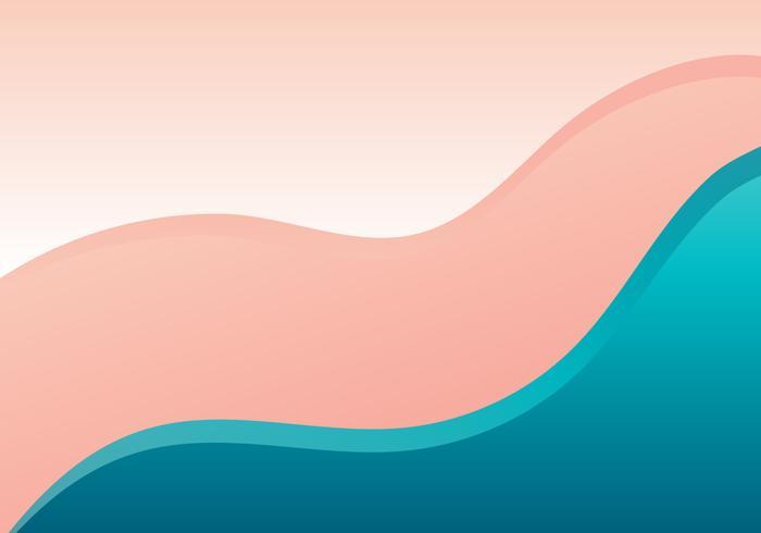 Wave Gradient Background