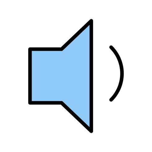 Laag volume Vector pictogram