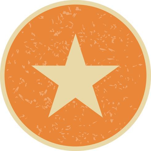 stjärna vektorikonen