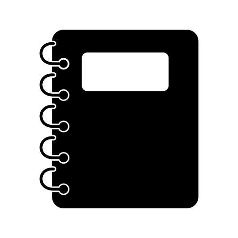 Notepad vektorikonen