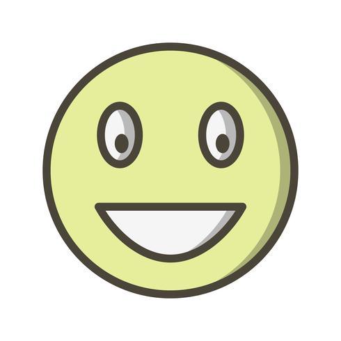 Skratta Emoji Vector Icon
