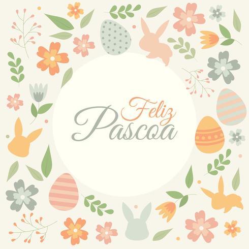 Feliz Pascua Typografi