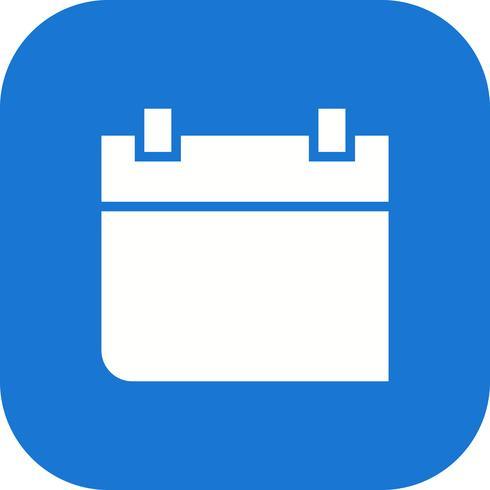 Kalender-Vektor-Symbol Vektor-Symbol