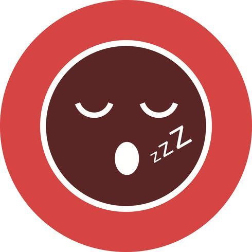 Icona di sonno Emoji vettoriale