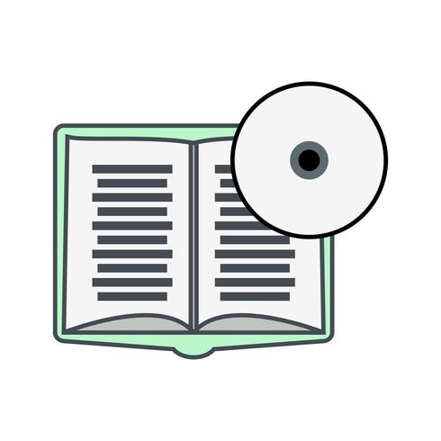 Libro DVD Vector Icon