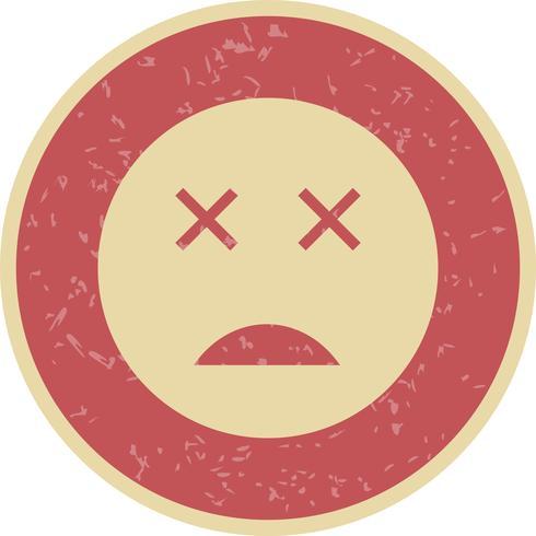 Tote Emoji-Vektor-Ikone