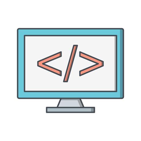 Programmation Vector Icon