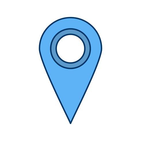 Standort-Vektor-Symbol