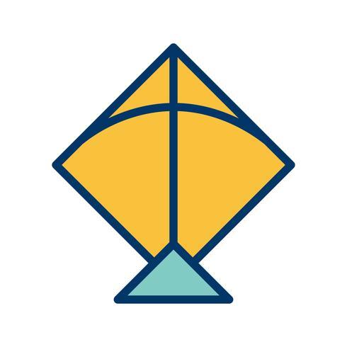 Drachen-Vektor-Symbol