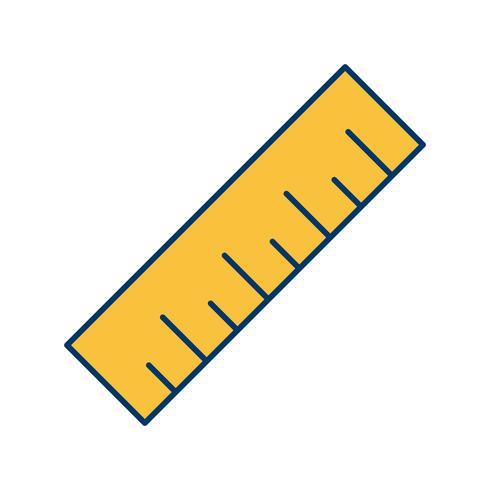 Ícone de vetor de escala