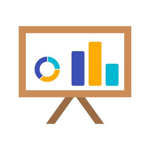 Präsentations-Vektor-Symbol