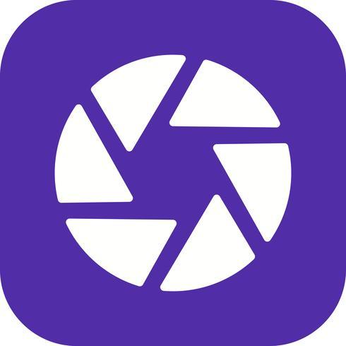 Icono de Vector de obturador