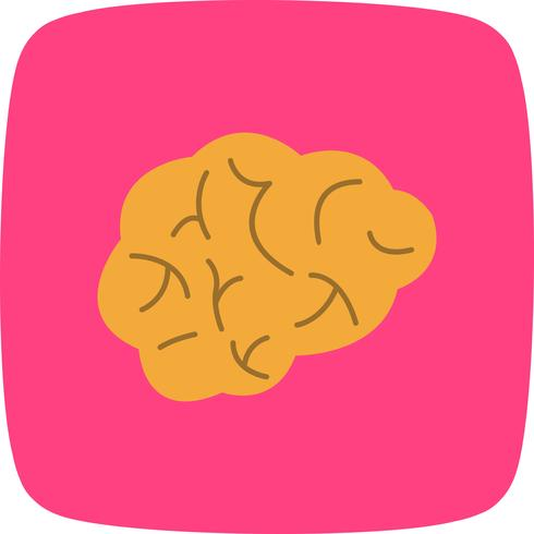 Gehirn-Vektor-Symbol