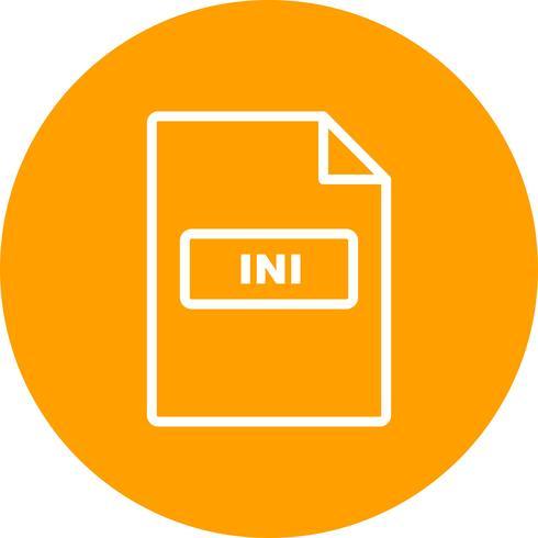 INI-Vektor-Symbol