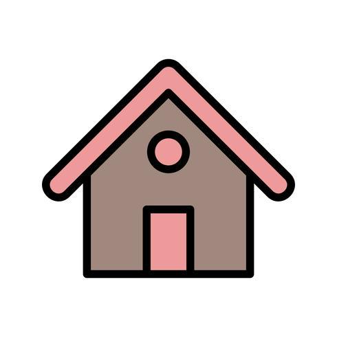 Icône de vecteur de maison