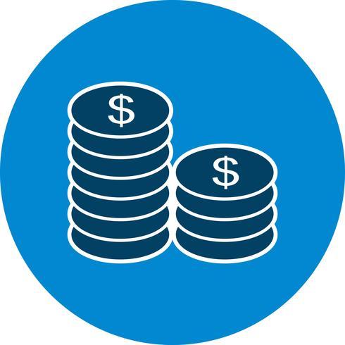 Coins Vector Icon