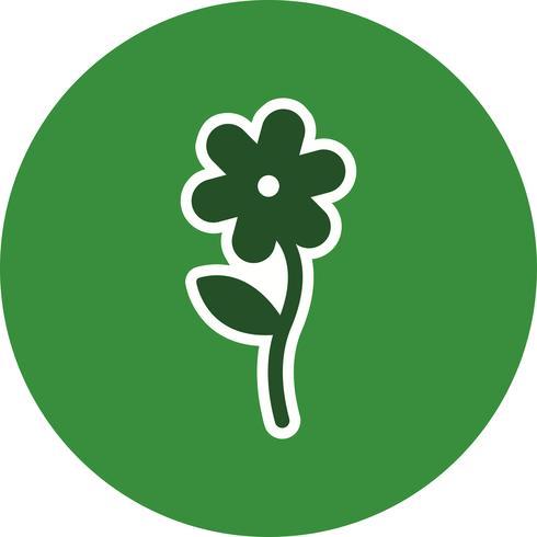 Blomma vektor ikon