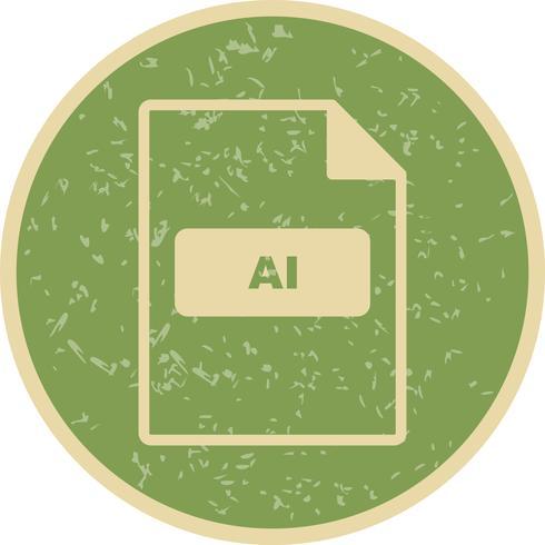 AI-Vektor-Symbol