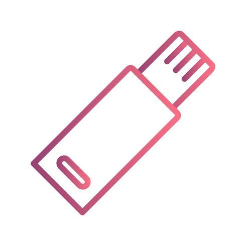 USB Vector Icon