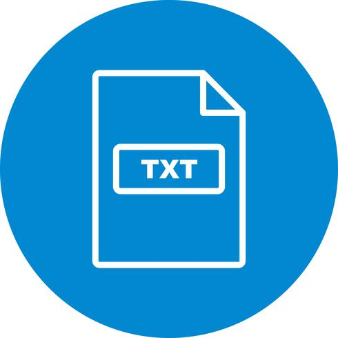 TXT-Vektor-Symbol