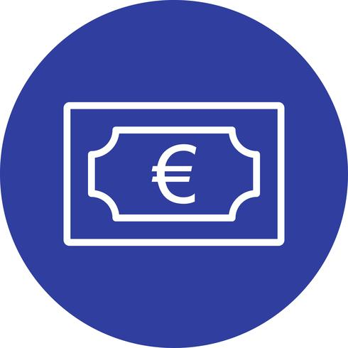 icône de vecteur euro