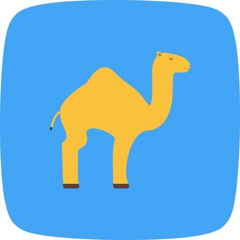 Icona di vettore del cammello