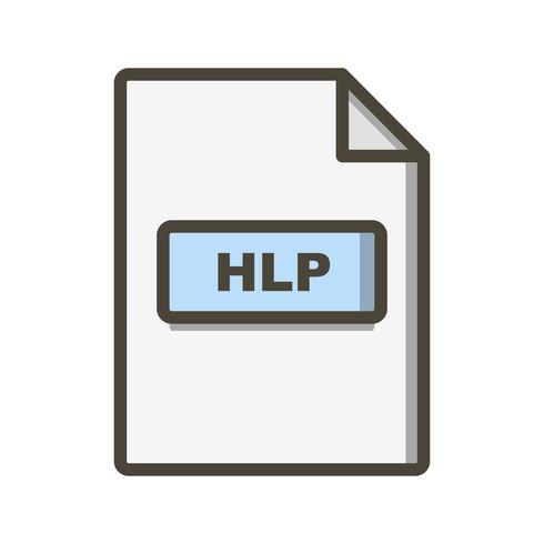 HLP-Vektor-Symbol