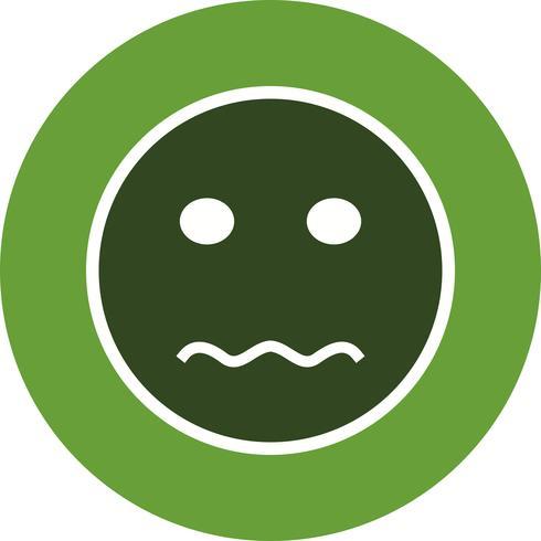 Nervous Emoji Vector Icon - Download Free Vector Art, Stock Graphics
