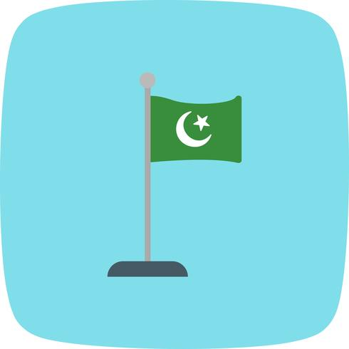 Islamitische vlag Vector Icon