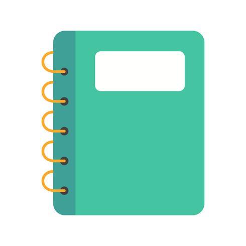 Icona di vettore del blocco note