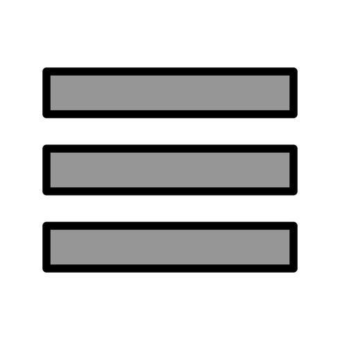Menu Vector Icon