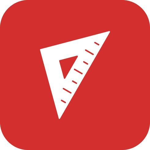 Set Square Vector Icon